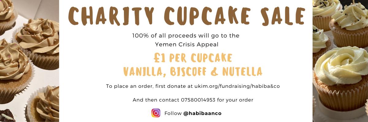 Charity Cupcake Sale