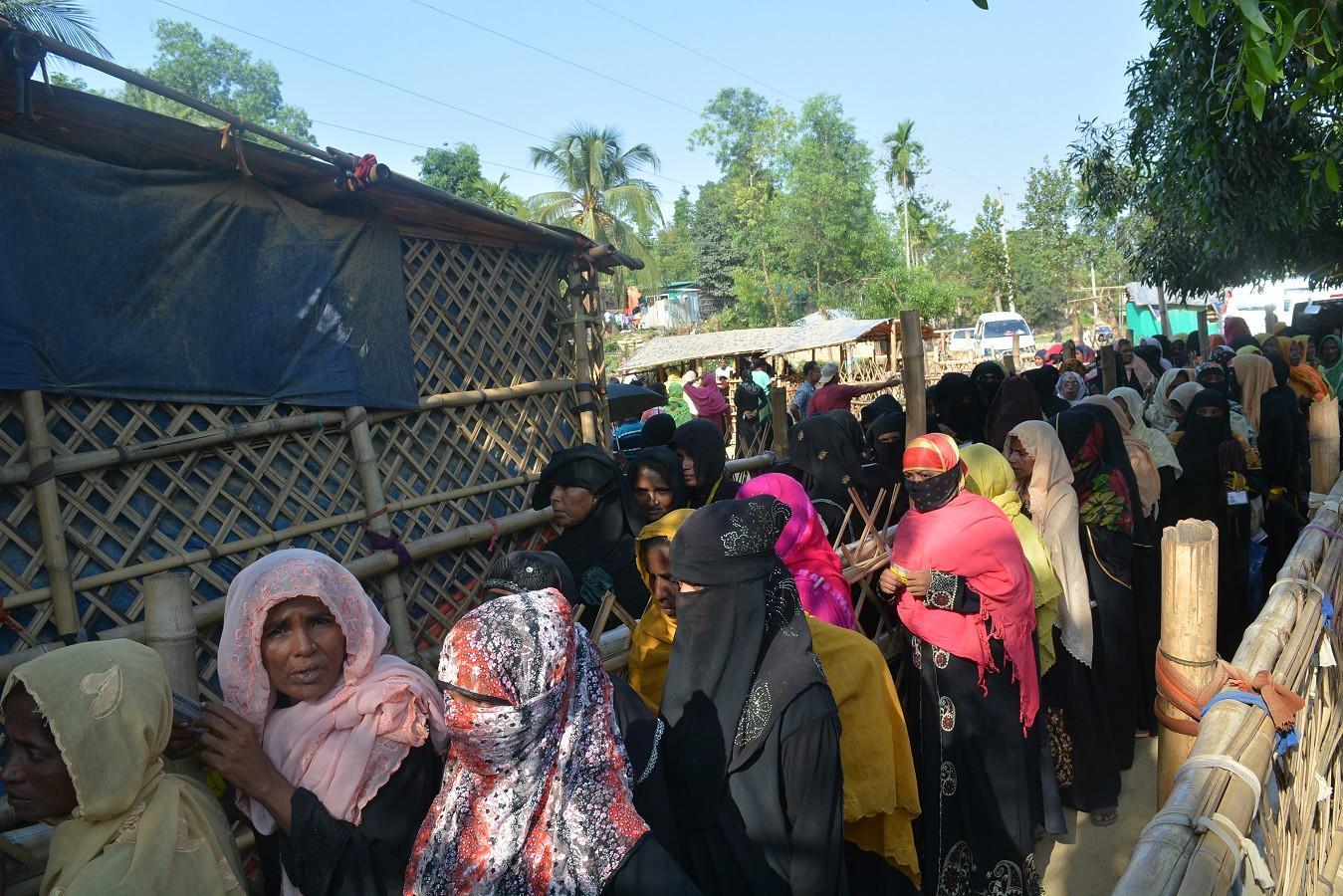 Ramadan Food Packs Distribution for Rohingya