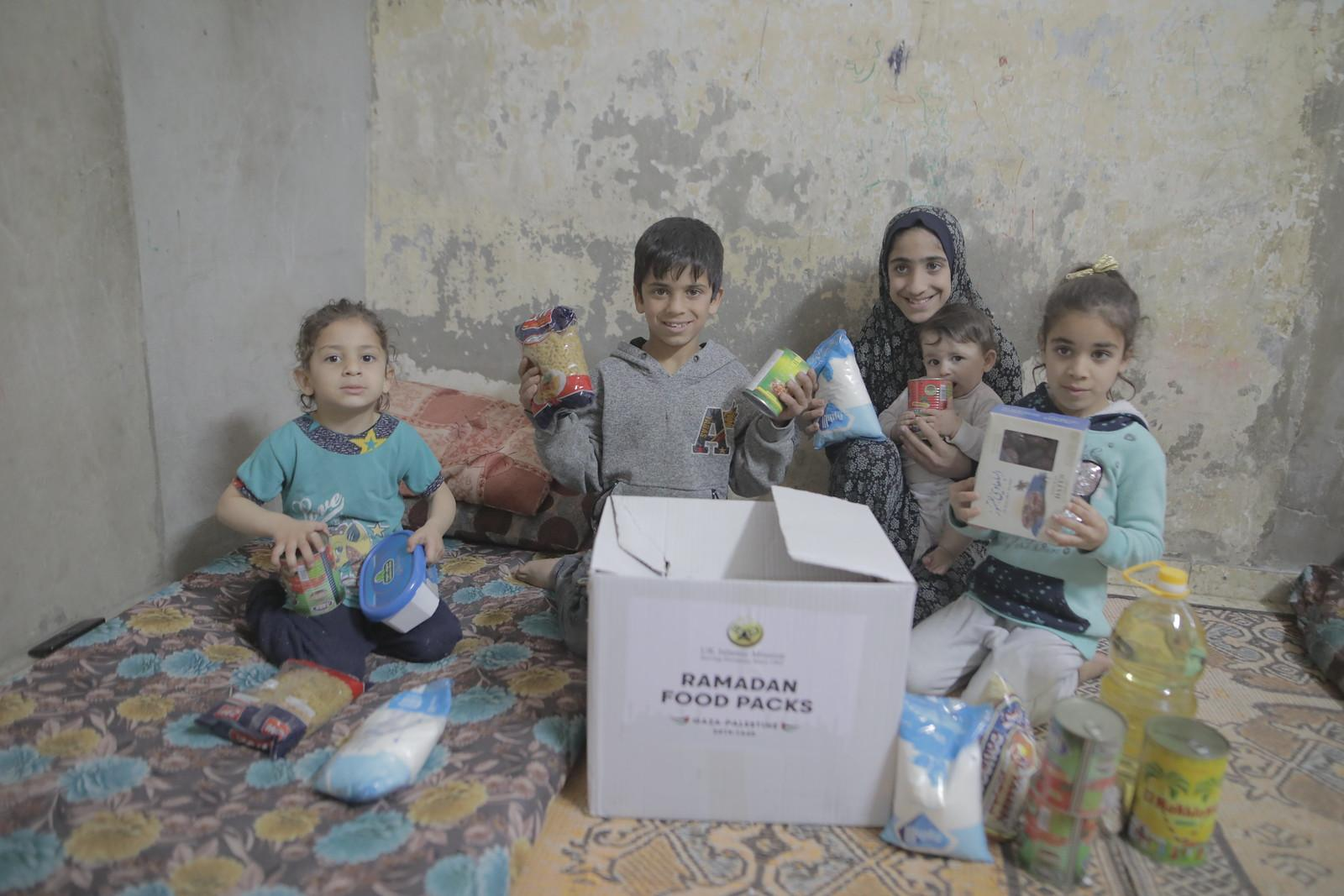 Ramadan Food Packs Gaza