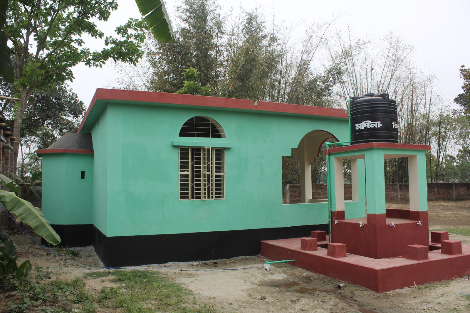Brother's Masjid & Water Well Group Project
